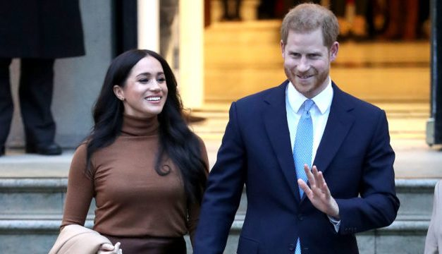Harry and Meghan to drop HRH titles and stop receiving public funds